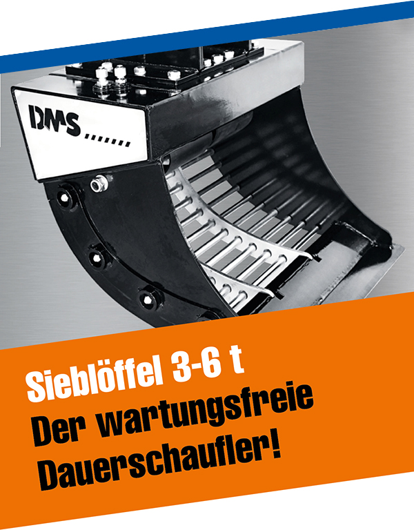 DMS-Sieblöffel