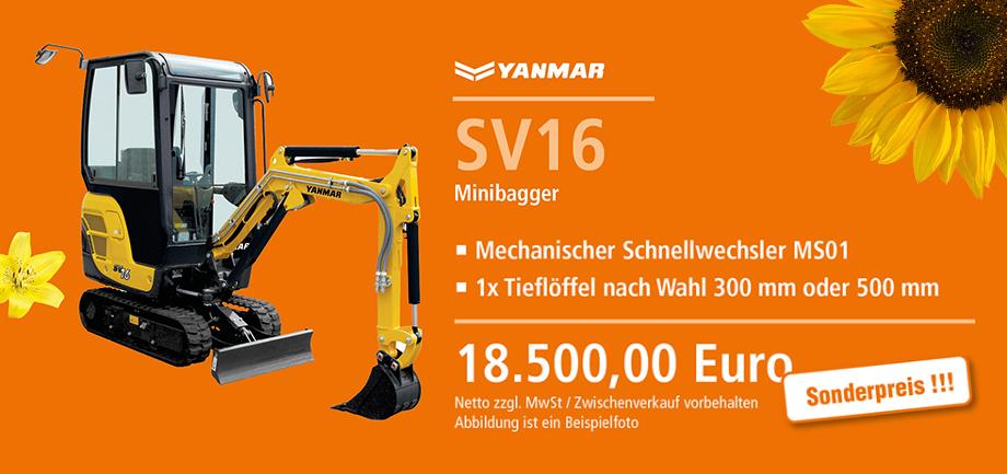 Yannar SV16 Angebote